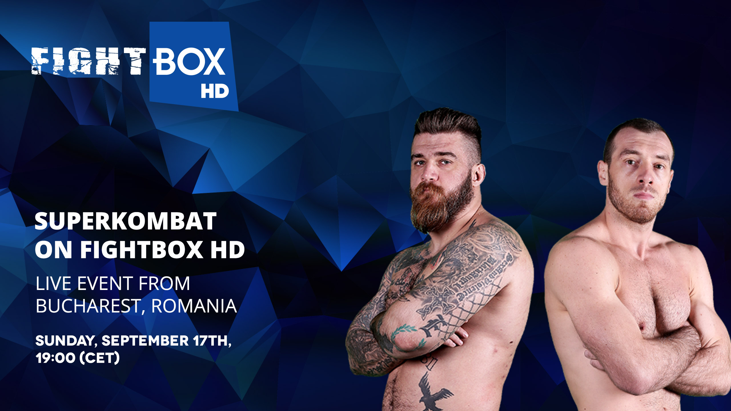 Superkombat Kickboxing WGP - LIVE on FightBox HD on Sunday September 17th at 7:00 pm CET