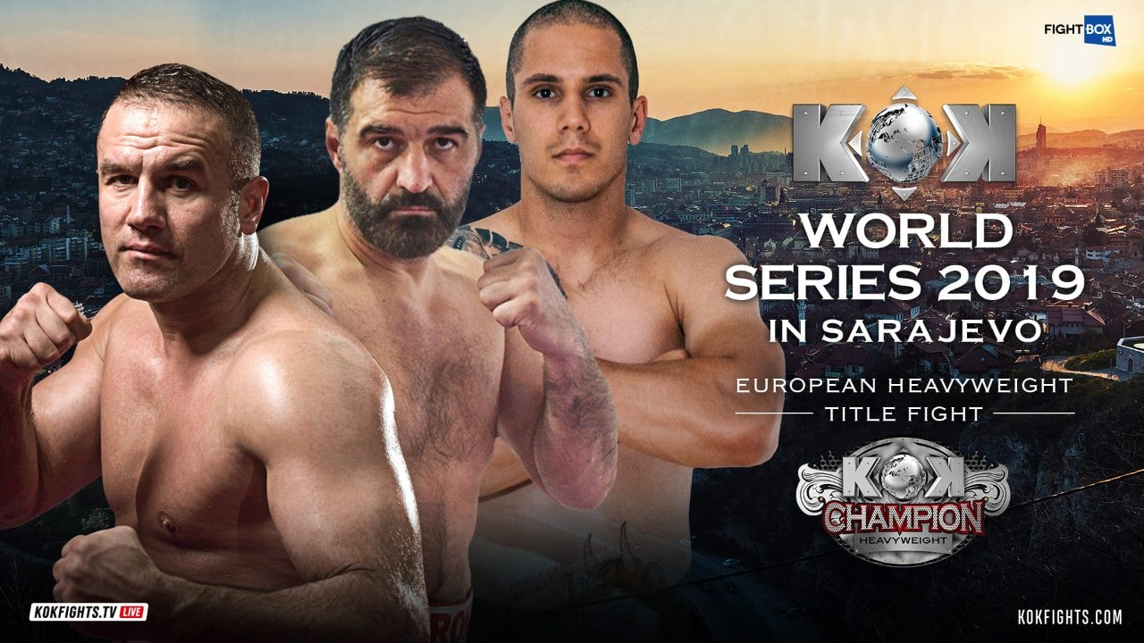 Results for the FightBox KOK Hero's Series from Sarajevo 03.07.2019