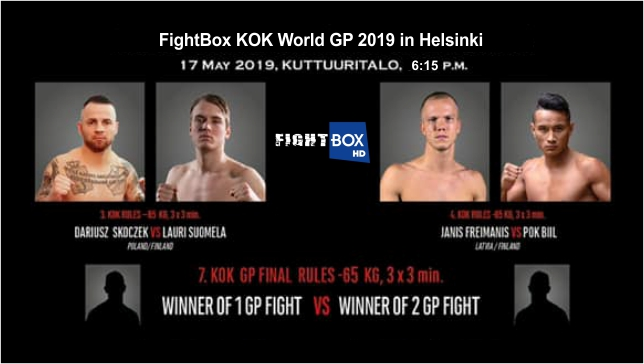FightBox's KOK World GP 2019 - LIVE from Helsinki, Finland 17.05.2019