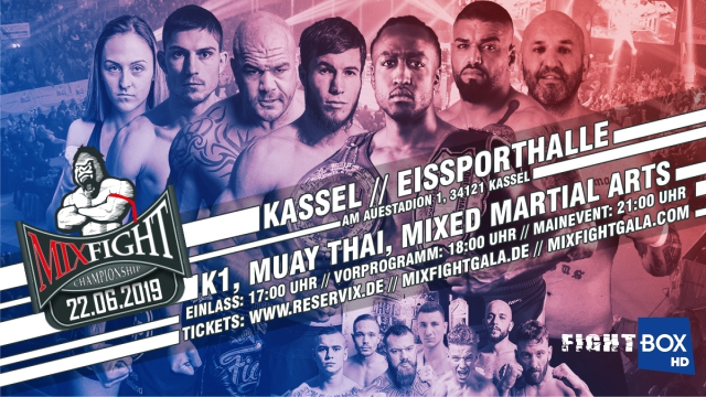Mix Fight Championship 26 - LIVE from Kassel, Germany 22.06.2019