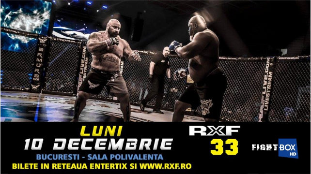 RXF MMA - LIVE on FightBox HD 10.12.2018 from Bucharest, Romania
