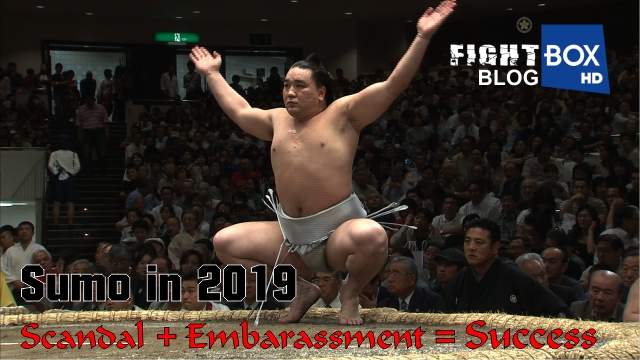Sumo in 2019: Scandal + Embarrassment = Success
