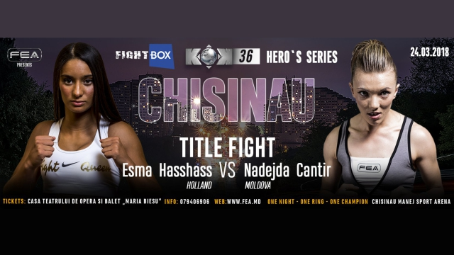 FightBox's KOK Hero's World Series - LIVE from Chisinau, Moldova 24.03.2017