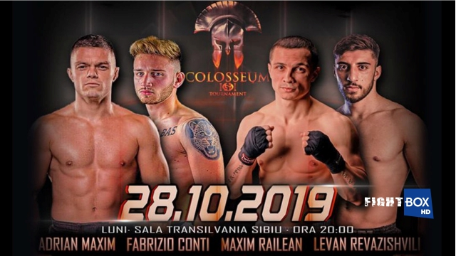 Results for Colosseum Tournamnet XVI from Sibiu, Romania 28.10.2019