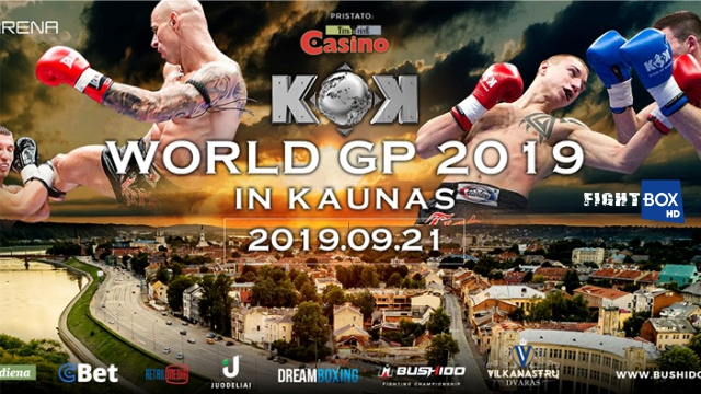 FightBox KOK Hero's Series LIVE from Kaunas, Lithuania 21.09.2019