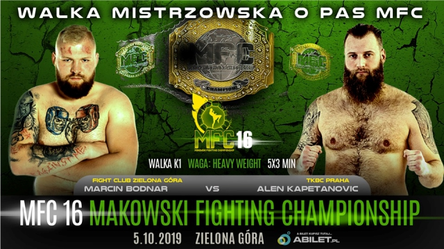 Results for MFC 16 from  Zielona Góra, Poland 05.10.2019