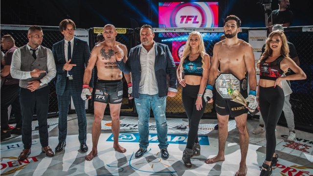 Results for Thunderstrike Fight League 18 from Kozienice, Poland 28.09.2019