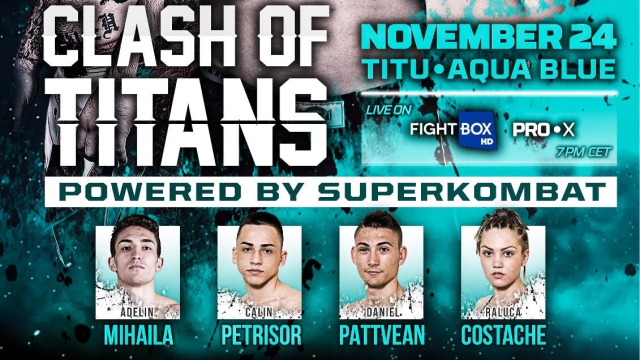 Superkombat Kickboxing NEW HEROES - LIVE on FightBox HD Friday November 24th  at 7:00 pm CET