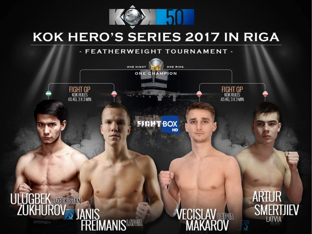 FightBox's KOK Hero's World Series - LIVE from Riga, Latvia 28.10.2017