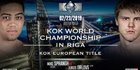 FightBox's KOK Heroes Series - LIVE from Riga, Latvia 23.02.2019