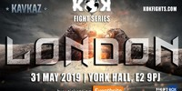 FightBox KOK Hero's World Series - LIVE from London, England 31.05.2019