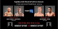 FightBox's KOK World GP 2019 - Helsinki, Finland 17.05.2019