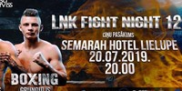 Results for LNK Boxing from Riga, Lativa 20.07.2019