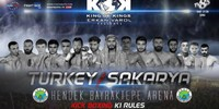 Results for the KOK Fight Series from Sakarya, Turkey 16.08.2019