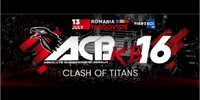 "Results for ACB Kickboxing ""Clash of Titans"" from Tagroviste, Romania 13.07.2018"