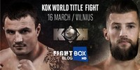 Matei vs. Viksraitis for the KOK Lightweight Championship