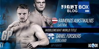 Forsberg vs. Aukstikalnis II - Rematch for the KOK Middleweight Title