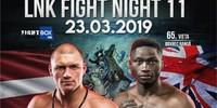 "LNK Boxing ""Fight Night 11"" LIVE from Riga, Latvia 23.03.2019"