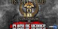 "Colosseum Tournament Kickboxing XXII ""Clash of Heroes"" - LIVE from Bucharest, Romania 18.12.2020"