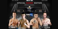 FightBox's KOK Special Summer Edition - LIVE on FightBox HD from Klaipeda, Lithuania on June 16th at 7:00pm CEST